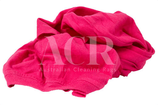 Australian Cleaning Rags Coloured T-shirt scrunched