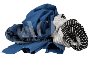 Australian Cleaning Rags Mixed Cotton Scrunched