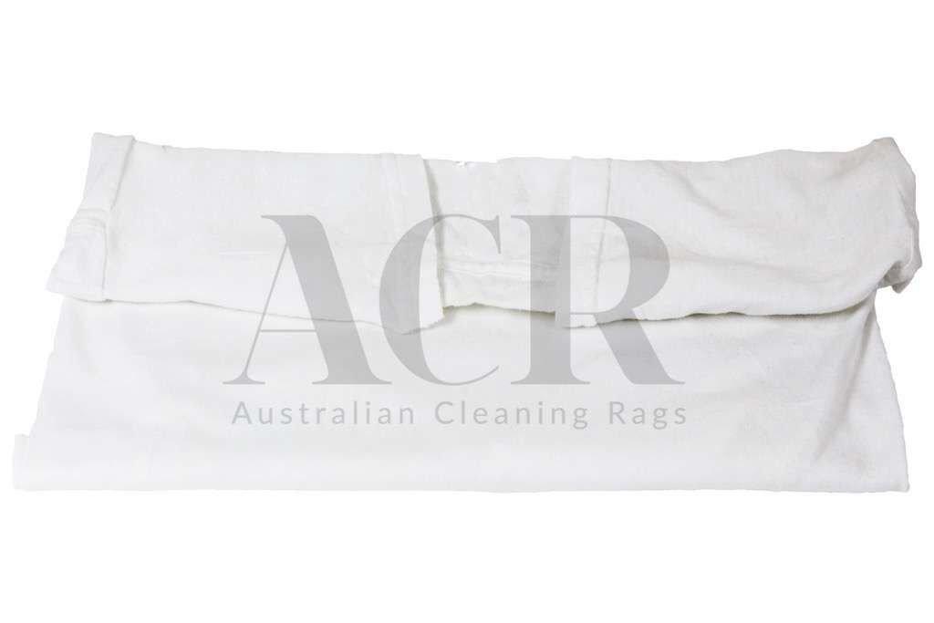 Australian Cleaning Rags White T-shirt Folded