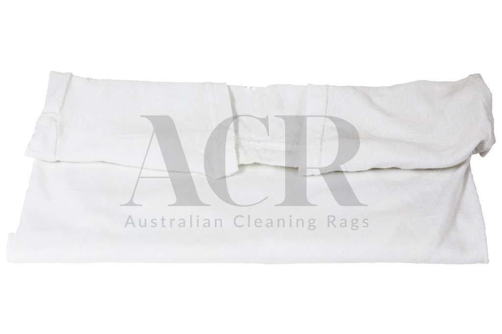 White t shirt shop australian cleaning rags for T shirt rags bulk