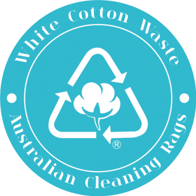 Australian Cleaning Rags White Cotton Waste