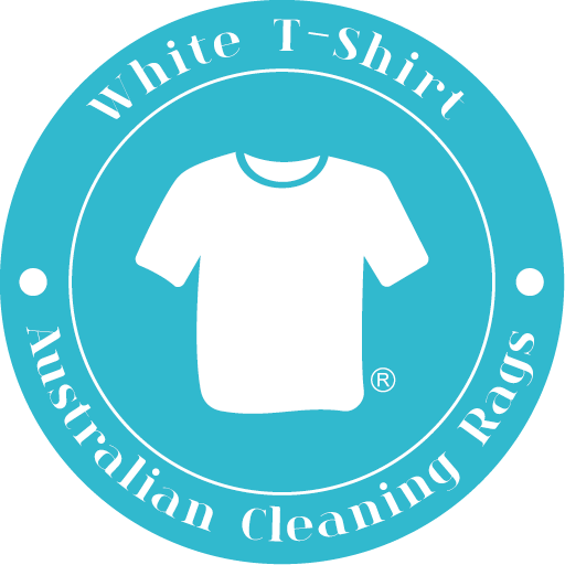 Australian Cleaning Rags White -T-shirt