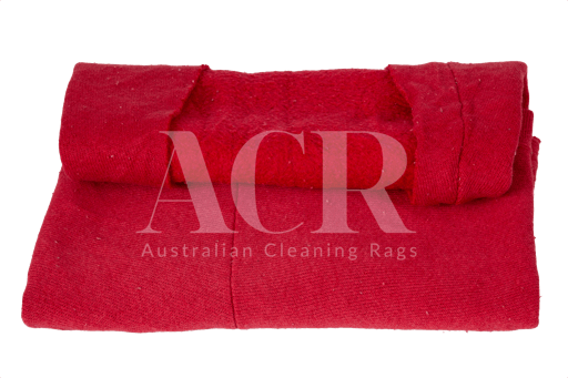 Australian Cleaning Rags fleecy coloured folded