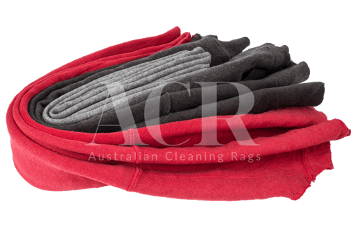 Australian Cleaning Rags fleecy stacked