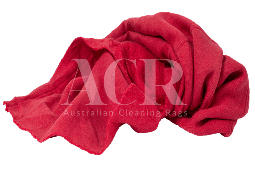 Australian Cleaning Rags fleecy scrunched