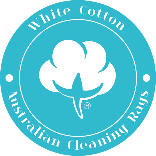 Australian Cleaning Rags white cotton icon