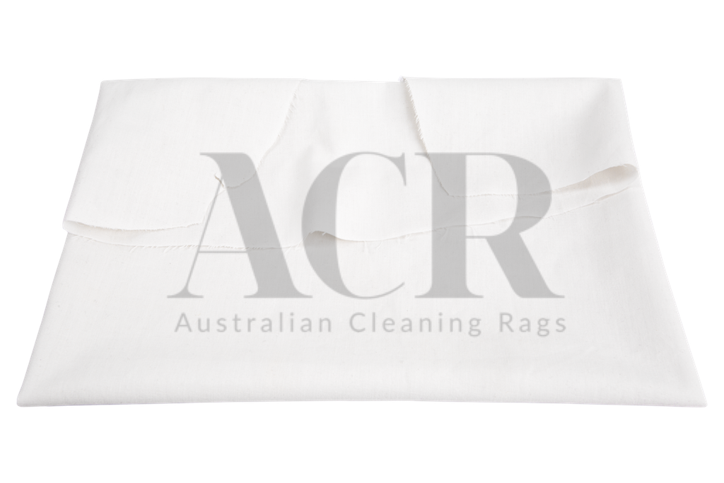 Australian Cleaning Rags White Cotton 2