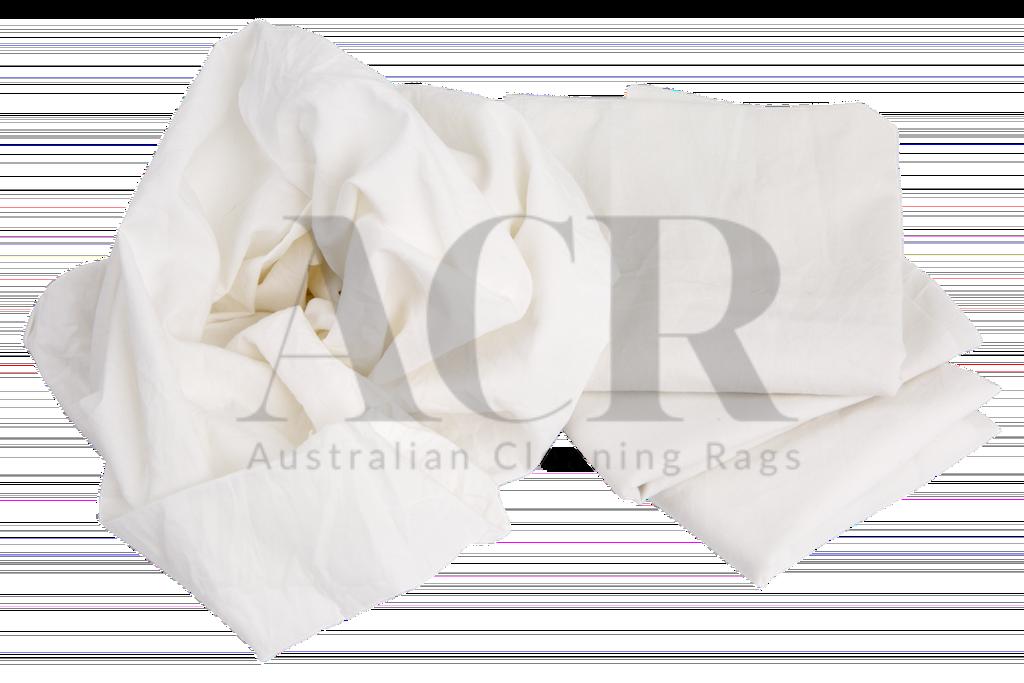 White cotton shop australian cleaning rags for T shirt rags bulk